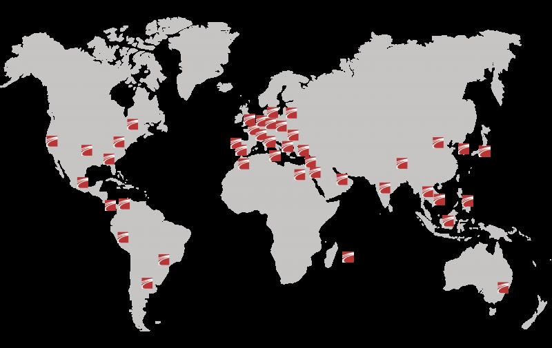 Carte mondiale Orpheo
