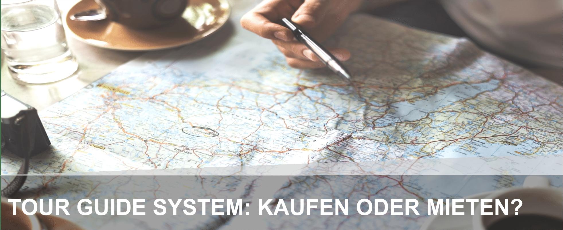 Tour Guide System kaufen oder mieten