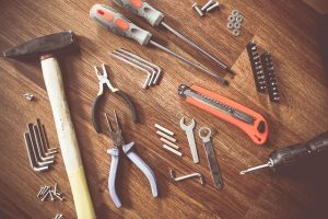 Werkzeug für Reparaturen