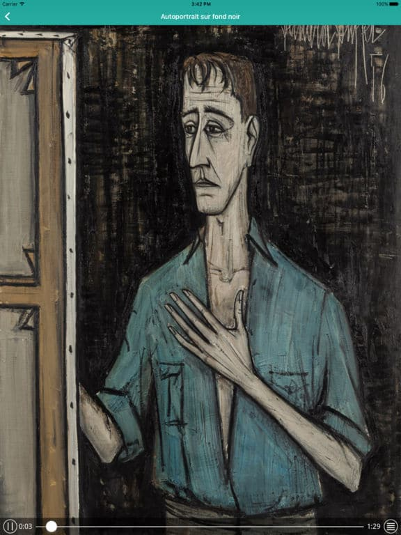 guides multimédias Orpheo Bernard Buffet MAM