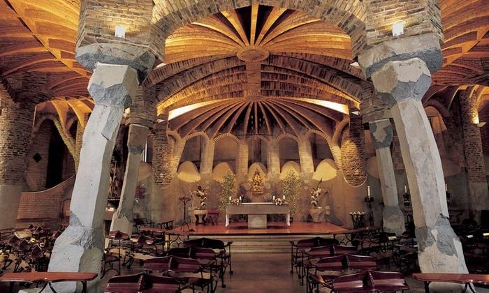 ¡Nuestras audioguías Orpheo MIKRO LX en Colonia Güell! - Cripta.Gaudi.Colonia.Guell