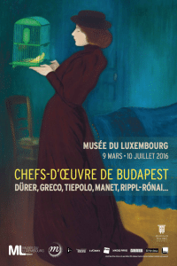 audioguides Orpheo Chefs d'oeuvre de Budapest Musée Luxembourg