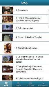 application Orpheo MUSA
