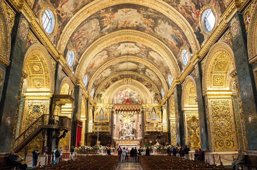 Cathédrale St John's à Malte