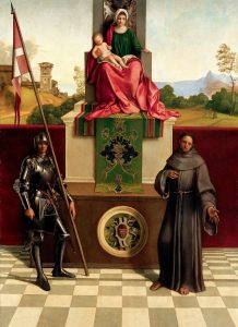 Pala della Cappella Costanzo presso il Duomo di Castelfranco Veneto, Giorgione