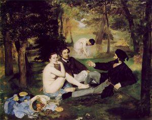 """""""Colazione sull'erba"""", Manet, Museo d'Orsay"""