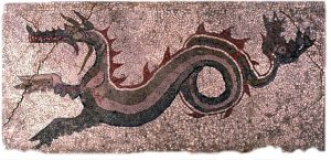 mosaico del Drago - Kaulon