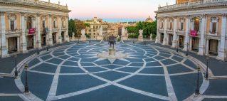 roma, piazza del campidoglio, musei civici, orpheo