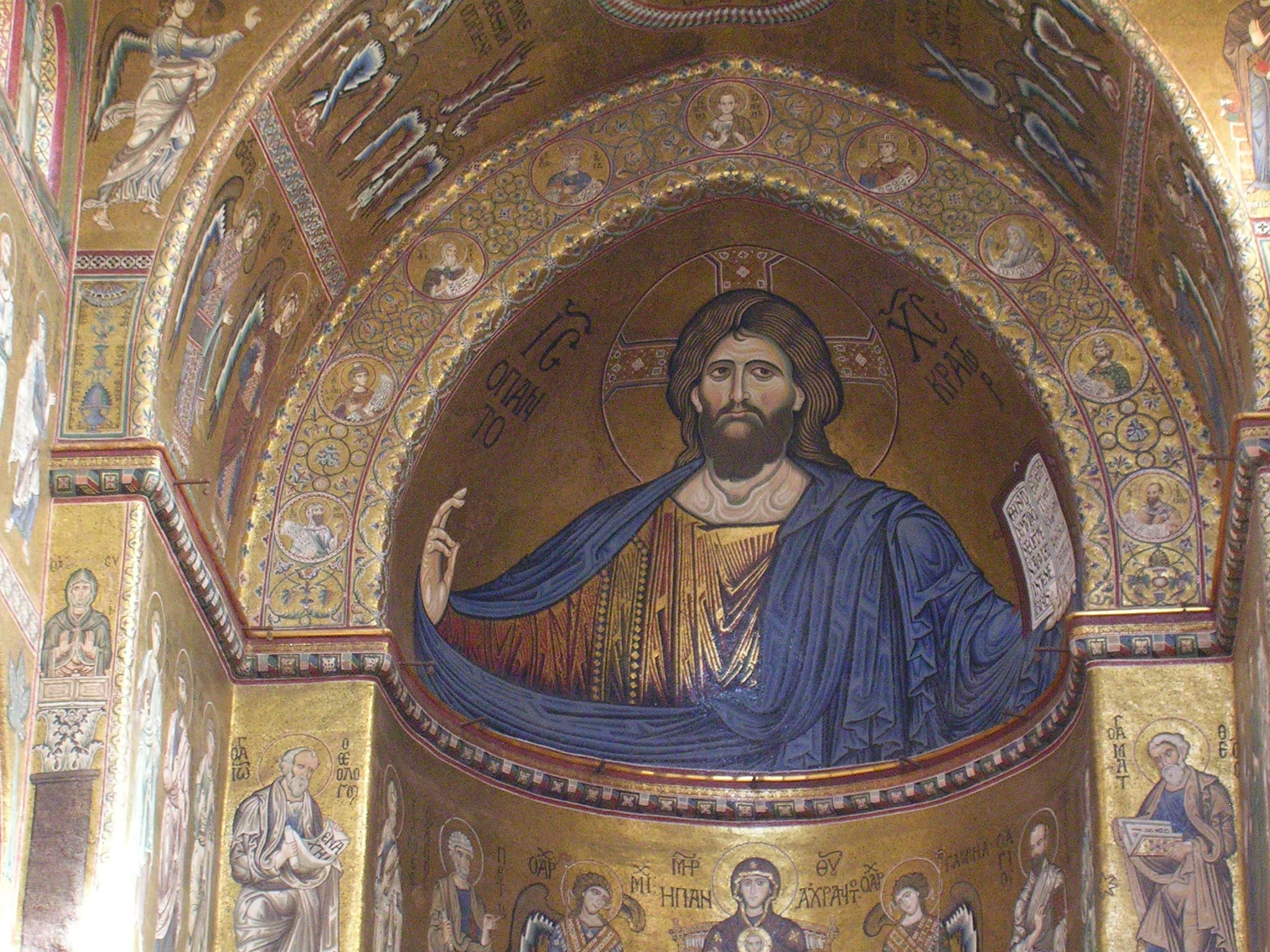 Cristo Pantocrator Monreale