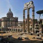 форум цезаря в риме