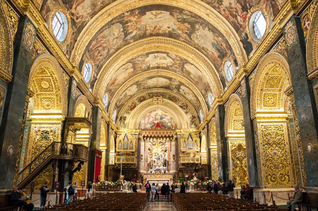 - Malta St John's Cathedral audioguided tour.